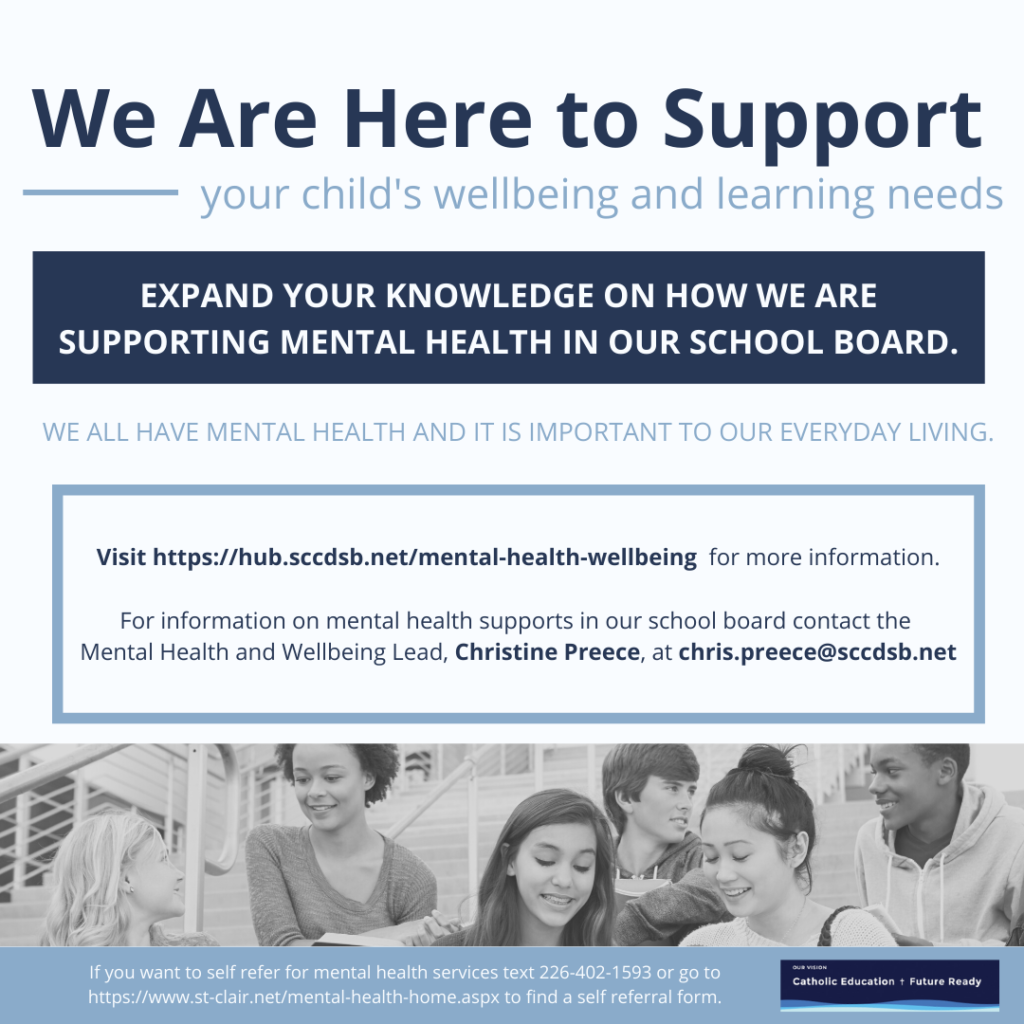 More information on how to contact the Student Support and Wellbeing Team