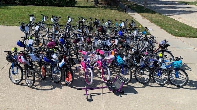 Over $6,500 was raised for World Day of Physical Activity. The SCCDSB used the donations to purchase 41 bikes and helmets for students.